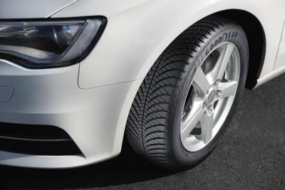 Goodyear prägt mit seinem Vector-Reifen (im Bild der aktuelle Vector 4Seasons Gen-2) seit nunmehr über 30 Jahren den europäischen und damit insbesondere auch den deutschen Ganzjahresreifenmarkt