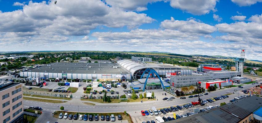 Das Messegelände, wo Mitte Oktober die International Rubber and Tyre Expo (RTE) stattfindet, befindet sich in der knapp 200 Kilometer südlich von Warschau gelegenen Stadt Kielce