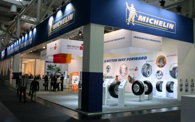 Neben Produktneuheiten ebenfalls ein Thema am Michelin-Stand auf der IAA Nutzfahrzeuge in Hannover: kommunizierende Reifen