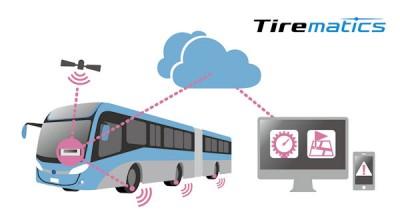 """Bridgestone Tirematics soll über die """"proaktive Reifenwartung"""" Kosten, Kraftstoffverbrauch und Ausfallquote reduzieren"""