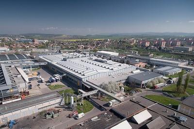 Das Continental-Reifenwerk im tschechischen Otrokovice ist das Größte des Konzerns; im vergangenen Jahr produzierte der Hersteller dort 21,1 Millionen Pkw-Reifen, 919.000 Lkw-Reifen und 119.000 Industriereifen
