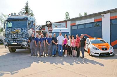 Bänex Reifen & Autoservice ist heute an sechs Standorte in der Region um Magdeburg herum präsent und beschäftigt insgesamt 35 Mitarbeiter