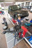 Bänex betreibt zwei Absatzcontainer als mobile Werkstätten zum Einsatz beim Kunden, einen für EM- und Landwirtschaftsreifen und einen weiteren für Pkw-Reifen (Foto)