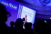 Goodyears Europapräsident Jean-Claude Kihn betonte in Brüssel anlässlich einer Präsentation, was im Zentrum der Mobilität der Zukunft stehen soll: die neuen Goodyear Proactive Solutions