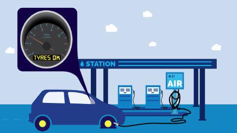 Als eine der möglichen Ursachen, warum indirekte RDKS trotz korrekter Initialisierung des Systems durch den Fahrer bei zu wenig Fülldruck keinen Alarm geben, werden unter anderem defekte bzw. nicht die richtigen Druckwerte anzeigende Füllgeräte an Tankstellen genannt