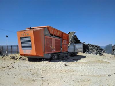 Diese Maschine von Ajres hilft, den Reifenberg zu verringern