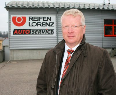 Hermann Lorenz, namhafter Reifenhändler, Runderneuerer und Mitglied im BRV-Vorstand, erläutert im NRZ-Interview, wie sein Unternehmen Reifen Lorenz von der aktuellen De-minimis-Förderrichtlinie beeinträchtigt wurde