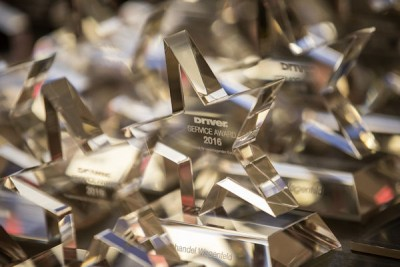 Anlässlich der Driver-Tagung in Oberursel wurden wieder die Service-Awards verliehen