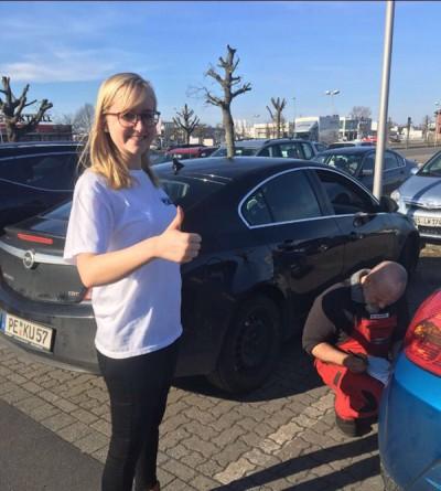 Auch in Braunschweig wurden die Reifen überprüft