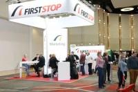 Im Rahmen der Industriemesse führen die Aussteller den Dialog mit den First-Stop-Partnern, diese Gelegenheit lässt sich auch die Zentrale selber nicht nehmen