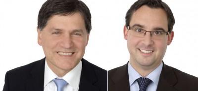 Goran Zubanovic (links) und Dr. Guido Hüffer, Geschäftsführer GD Handelssysteme