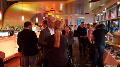 Schon am Vorabend der offiziellen Versammlung trafen sich die Mitglieder zum Austausch im Restaurant Rheinterassen