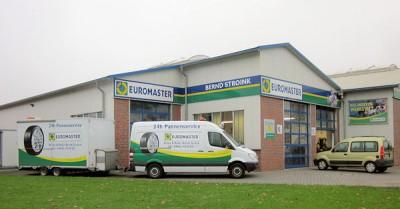 Aktuell betreibt Euromaster in Deutschland 262 eigene Betriebe und weitere 80 Franchisebetriebe; das Ziel bis 2022: es sollen 500 Standorte in Deutschland unter dem blau-gelb-grünen Logo am Markt auftreten