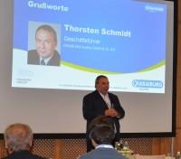 Thorsten Schmidt, Geschäftsführer Kraiburg Austria, begrüßte die aus elf Ländern angereisten Konferenzteilnehmer