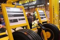 In Bezug auf Produkte signalisierte die Präsenz der Marke Uniroyal am Bandvulc-Stand auf der CV Show den Status quo der Integration beider Unternehmen