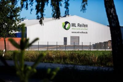 Die 2.000 Quadratmeter große Halle auf dem Firmengelände in Wallenhorst