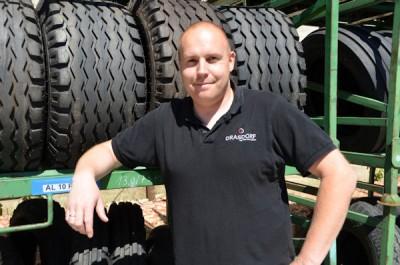 Logistikleiter Maik Dauer