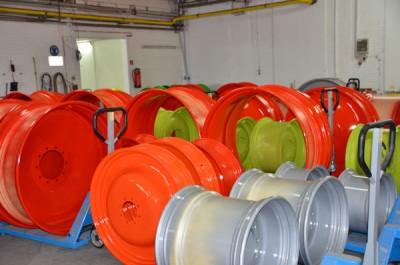 Produziert werden die Räder im sächsischen Groitzsch und lackiert in Holle