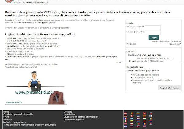 h ndler onlineshop jetzt in italienischer sprache. Black Bedroom Furniture Sets. Home Design Ideas