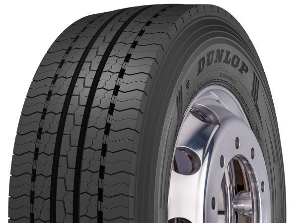 """Der Dunlop-Lenkachsreifen """"SP346+"""" ist ab sofort in der Größe 315/70 R22.5 HL erhältlich, im dritten Quartal soll er dann zusätzlich noch in 315/60 R22.5 HL verfügbar sein"""