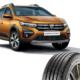"""Bei Dacias Sandero Stepway wird das Giti-Tire-Profil """"SynergyE1"""" ab Werk in der Größe 205/60 R16 92H montiert (Bild: Giti Tire)"""