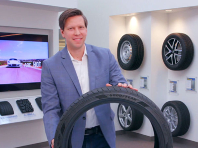 Chris Queen ist Senior Director Innovation Technology bei Goodyear (Bild: YouTube/Screenshot)