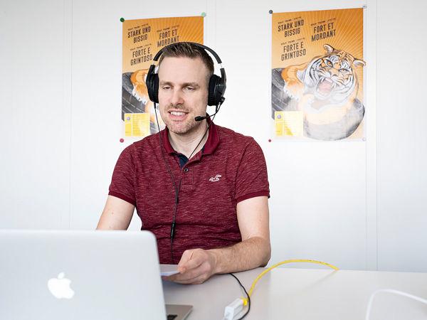 Martin Schütz, Category Manager Reifen & Verbrauchsgüter bei der ESA, war Referent bei den vier Onlinereferaten für die Reifenspezialist-Modulpartner (Bild: ESA)