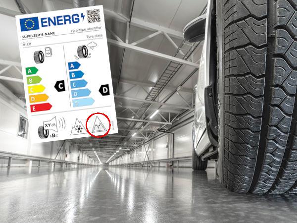 Da das ab 1. Mai neue Reifenlabel auch eine Kennzeichnung hinsichtlich des Eisgrips von Reifen (rote Markierung) enthalten soll, verweist Test World auf seine diesbezüglichen Indoor-Prüfmöglichkeiten zum Nachweis entsprechender Eigenschaften (Bild: Test World)