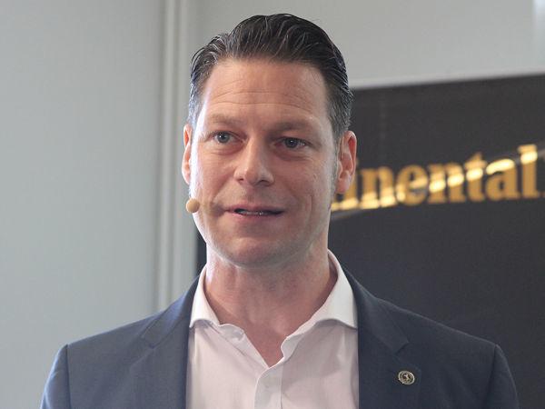 Anfang 2019 erst zu Continental gestoßen als Chief Technology Officer (CTO) der Automotive-Sparte des Konzerns, wird Dr. Dirk Abendroth das Unternehmen Ende Juni schon wieder verlassen (Bild: NRZ/Christian Marx)