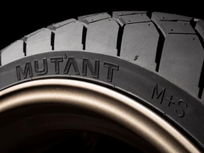 """Dunlop bietet sein als Crossover-Reifen bezeichnetes Modell """"Mutant"""" neuerdings auch in den beiden Hinterraddimensionen 150/60 ZR17 und 160/60 ZR17 an (Bild: Dunlop)"""