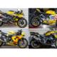 Die ersten vier Motorräder im Design und auf Reifen der Marke, die Dunlop zum kostenlosen Probefahren bei teilnehmenden Händlern zur Verfügung stellt, sind eine Honda Fireblade, Ducati Panigale V2, Yamaha R1 und BMW R1250 GS – weitere Maschinen/Termine sollen noch folgen (Bild: Dunlop)