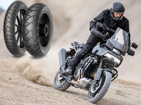 """Ab Werk rollt Harley-Davidsons Pan America 1250 Michelin zufolge exklusiv auf seinem """"Scorcher Adventure"""" (Bild: Michelin)"""