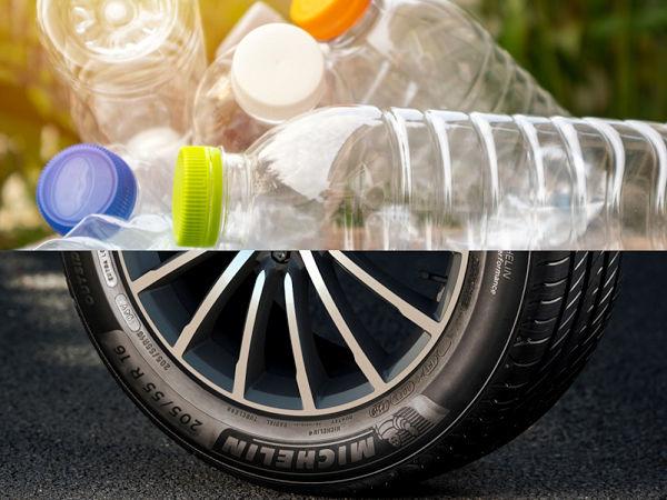 Laut Michelin benötigt das Unternehmen für die Produktion seiner Pkw-Reifen jedes Jahr so viel an technischen Fasern, wie man aus durch Recycling von rund drei Milliarden Plastikflaschen zurückgewonnenem PET herstellen könnte (Bild: Michelin)