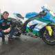 Dean Harrison ist erstmals 2011 bei der Tourist Trophy an den Start gegangen und wird nach den bedingt durch Corona ausgefallenen Rennen 2022 dann mit Dunlop-Reifen an seiner Kawasaki des Teams Silicone Engineering Racing in den Wettbewerb auf der Isle of Man gehen (Bild: Dunlop)