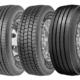 """Fuldas neue Lkw-Reifenserie (von links) umfasst den """"RegioControl 3"""" für Lenk-, den """"RegioForce 3"""" für Antriebs- sowie den """"RegioTonn 3"""" für Trailerachsen (Bild: Goodyear)"""