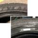 """Laut dem Reifenhersteller tauchen immer öfter Goodyear-Reifen mit absichtlich beschädigten Wulst-Barcodes im europäischen Markt auf, was ihm wohl Nachverfolgung der Warenströme """"illegaler Parallelimporte"""" erschweren soll (Bild: Goodyear)"""