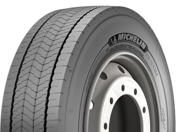 """Michelins neuer """"X Incity EV Z"""" ist nachschneid- und runderneuerbar, mit der 3PMSF-Kennung versehen sowie seit Mai in Deutschland, Österreich und der Schweiz erhältlich für einen Einsatz auch auf üblichen Stadtbussen (Bild: Michelin)"""