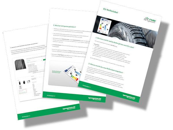 Für Interessierte steht das sechsseitige PDF-Dokument zum neuen Reifenlabel kostenlos unter www.tyresystem.de/neuigkeiten/2021/reifenlabel zum Herunterladen bereit (Bild: RSU)