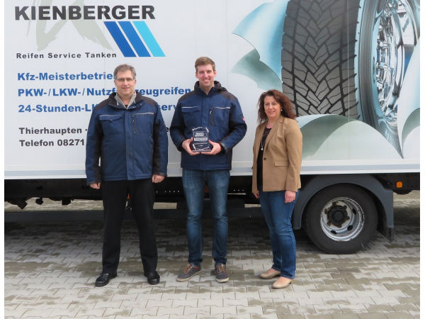 Goodyear zeichnet Partner für gute Lkw-Serviceleistung aus