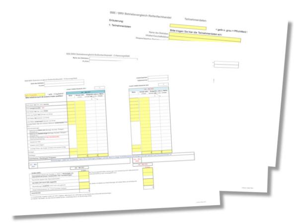 Gegenüber früheren Auswertungen soll sich die für die Datenabfrage zur Verfügung gestellte Vorlage geändert haben bezüglich einiger Abfragepositionen – insofern bittet der BRV darum, bei einer Teilnahme nur noch die aktuelle Version zu verwenden (Bild: BRV)