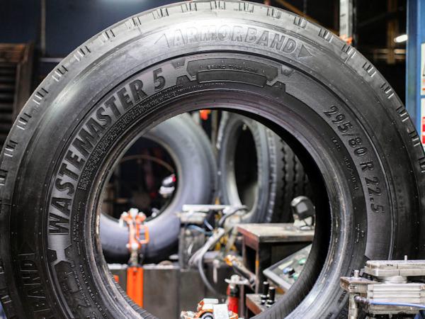 Das Line-up des Spezialisten Bandvulc Wastemaster wird noch im Laufe dieses Jahres erneuert (Bild: Bandvulc)