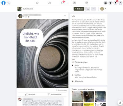 Die Mitglieder der geschlossenen Facebook-Gruppe Vulkaniseure treiben Barcodes im Bereich des Reifenwulstes aktuell ebenso um, wie ... (Bild: Screenshot)