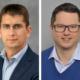 Spätestens zum 1. Januar kommenden Jahres soll Gilles Mabire (links) seine neue Rolle als CTO bei Continental Automotive Technologies übernehmen – bis es soweit ist, bekleidet Michael Hülsewies diese Position kommissarisch (Bilder: Continental)