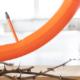 """Seit Mitte Juni bietet die österreichische Tubolito GmbH ihre orangefarbenen Fahrradreifenschläuche unter dem Namen """"X-Tubo-City/Tour"""" auch für Alltagsradler im City- und Touringbereich an (Bild: Markus Fruehmann)"""