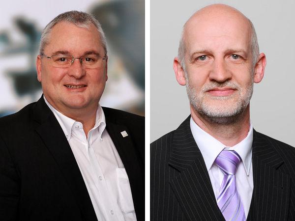 """Andreas Brodhage als CEO der Global Group (links) und Rainer Starkgraff, Leitung Provider Management bei der Verti Versicherung AG, versprechen sich """"für alle Parteien Potenzial für einen zukünftigen Ausbau der Zusammenarbeit"""" (Bilder: GAS)"""