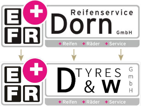 War die Reifenservice Dorn GmbH in Altusried bereits Partner der Einkaufsgesellschaft freier Reifenfachhändler (EFR), so gilt das genauso für die am selben Standort neu gegründete D&W Tyres GmbH (Bilder: Screenshot, D&W Tyres)