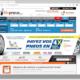 Mit 6.000 Montagepartnern, jährlich etwa 27 Millionen Besuchen auf seiner Website und rund 3,6 Millionen darüber abgesetzten Pkw-Reifen kommt Allopneus Michelin zufolge auf einen 40-prozentigen Marktanteil im französischen Onlinereifengeschäft (Bild: Screenshot)