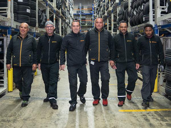 Seine 35-köpfige Logistikmannschaft am Standort in Neuendorf im Schweizer Kanton Solothurn sieht Continental Suisse als entscheidenden Erfolgsfaktor sowohl für die eigenen Kunden als auch für das Unternehmen selbst (Bild: Continental Suisse)