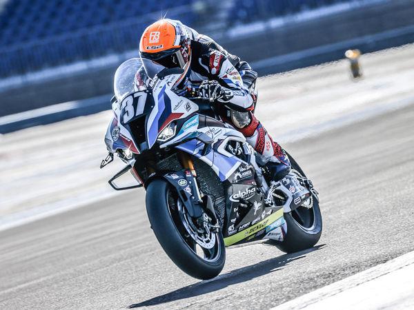 Auch beim Bol d'Or zunächst wieder vorne mit dabei, musste die Mannschaft von Team BMW Motorrad World Endurance als eines der von Dunlop ausgerüsteten Topteams aufgrund von Motorproblemen seine Maschine in weiteren Verlauf des Rennens dann aber vorzeitig abstellen (Bild: Dunlop)