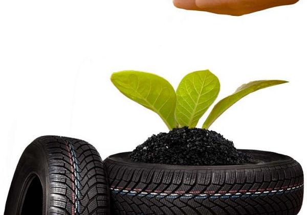 Die Initiative New Life beschäftigt sich mit dem Thema Reifenrecycling und ... (Bild: New Life)